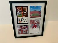 Darrion Daniels Nebraska Cornhuskers football autographed signed photo frame