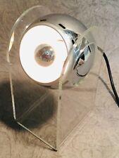 Vintage SENSORETTE touch desk table lamp for Insta design Gino SARFATTI 1970's