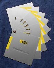 Ferrari 7 Regeln des Car Care Brochure Prospekt 70002617 no book buch press