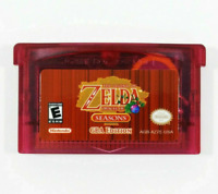 Nintendo GBA Video Game Console Card The Legend Of Zelda Oracle of Seasons
