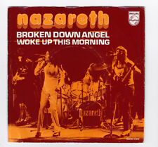 SP 45 TOURS NAZARETH BROKEN DOWN ANGEL 6000 096 PHILIPS en 1973 made in HOLLANDE