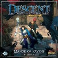Descent Journeys in the Dark 2nd Edition Manor of Ravens Expansion NIB