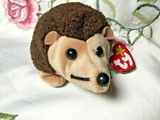 Ty Beanie Babies Prickles the Hedgehog 1998 Gasport and other errors Mwmt