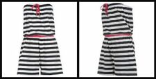 Cotton Striped Plus Size Jumpsuits & Playsuits for Women