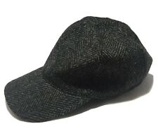 NEW, A.P.C. GRAY WOOL BASEBALL HAT, S, $195