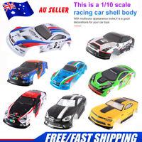 RC Car Shell Body for J601-1/2/5/7/8/9 1/10 RC Racing Car Drift Vehicle Toys AU