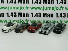 Lote N° 4: 5 X 3 inches 1/64 Peugeot NOREV 308 RCZ 3 Portes, 908 Hy , Conc Onyx