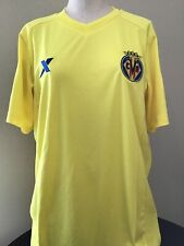 Villareal XTEP Soccer Jersey Spain Home Yellow Size Large NEW