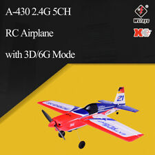Wltoys XK A430 X4 Transmitter RC Plane 2.4G 5CH Brushless 3D6G System Airplane