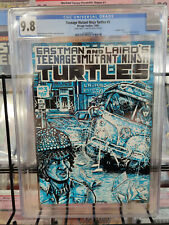 TEENAGE MUTANT NINJA TURTLES #3 (1985) - CGC GRADE 9.8 - DOUBLE COVER 1ST PRINT!