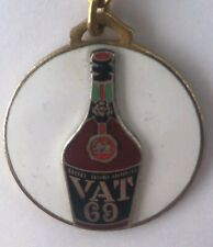 Ancien Porte clés Emaillé KEY RING PORTO VAT HOTEL CARLINA COUCHEVEL