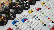 CHAOS WAR HeroClix Complete Uncommon Set #016-029 w/Stat Cards
