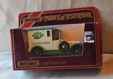 New Original 1984 MATCHBOX Yesteryear 1927 TALBOT VAN Y-5 Red Scale 1:47 England