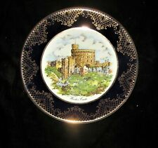 Weatherby Windsor Castle Plate Royal Falcon Gift Ware - Stoke-on-Trent England