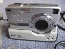 Pentax Optio SV 5.0MP Digital Camera - Silver - boxed