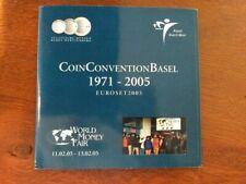 NEDERLAND CoinConvention Basel Euro Bu Set 2005
