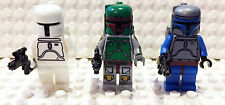 Boba Fett Custom Cloud City Jango Fett  Minifigure StarWars lego compatible