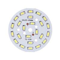 12W Round 5730 SMD Lamp Plate 24 LED Super Bright LED Chip Light LED Bulb L E5Y4