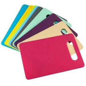 Large Chopping Board Baking Kitchen Plastic Cutting Worktop - All Colours