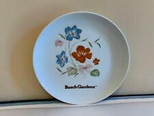 Vintage Early 1980's Busch Gardens State Souvenir Collector Plate