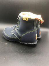 Unisex Size 1 Blue BOGS Waterproof K SKYLER Lace Up Winter Boots