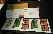 Magic the Gathering portal second age red and green uncut sheet