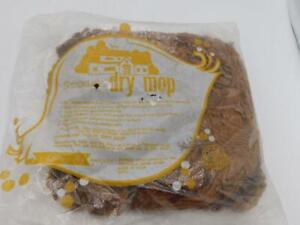Vintage STANLEY NEW Dry Cotton Mop Head Replacement ORIG SEALED BAG