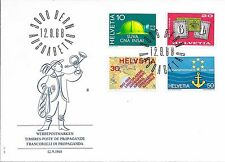 SWITZERLAND F.D.C. 12/9/1968 PUBLICITY ISSUE SG 763 - 66.