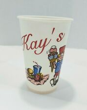 Vintage Kay's Ice Cream Soda Paper Cup , Knoxville Tn. Very Rare!