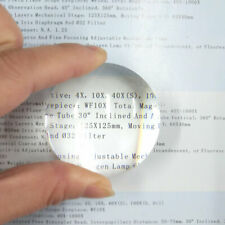 2PC 50mm Dia. Optical Glass Convex Lens w/ infrared antireflection Coating film