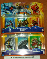 NUOVO e SIGILLATO 2 Skylanders Giants Triple pack Swap Force Trappola Team imaginators