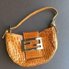 Authentic FENDI Alligator Purse Handbag