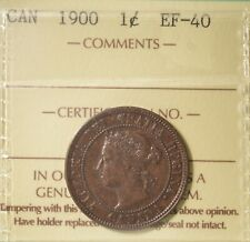 1900  - Canada Large Cent - ICCS Graded EF-40  - Serial #XBW 665