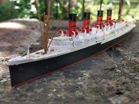 RMS MAURETANIA 1:1250 METAL WATERLINE LINER MODEL M 405 By MERCATOR
