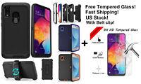 For Samsung Galaxy A20 Case Cover(Clip )+Screen Protector