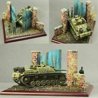 Military Building Model DIY Scenario 1/35 European Wooden Door Model Set