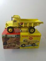 DINKY 965 EUCLID REAR DUMP TRUCK-RARE PICTURE BOX!            P/25