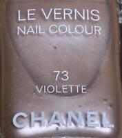 chanel nail polish 73 violette rare limited edition vintage