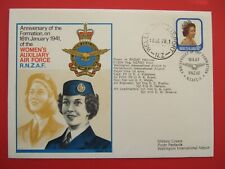 FDC-ANNIVERSARY OF FORMATION ON 16 1 1941 WOMENS AUXILIARY AIR FORCE  R N Z A F