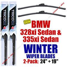 WINTER Wipers 2pk Premium fit 2007-2008 BMW 328xi 335xi Sedan 35240/190