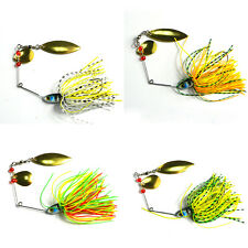 4in1 Set Hard Lure Spinner Bass Bait Tackle Fishing Freshwater Assorted Hook Hot