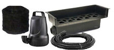 "2100 GPH Pond Pump and 25"" Waterfall Spillway Combo Kit"