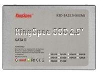 """KingSpec 2.5"""" Solid State Drive SSD 64GB SATA 2 MLC 4Channel Hard Drive"""