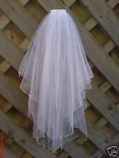 Wedding / Bridal Veil Ivory made with Swarovski Crystal Drops & Pearls