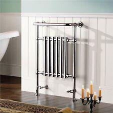 ENKI TR020 Heated Towel Rail Radiator Chrome Bathroom Central Traditional Modern