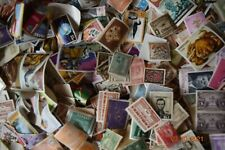 WORLDWIDE STAMP COLLECTION IN LARGE BOX - $1000's of Stamps - Many Countries