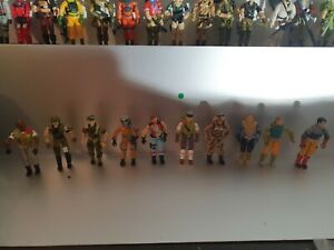 Lot de figurines Gi joe vintage.
