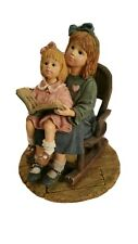 "Yesterdays' Child Dollstone 2000 Figurine "".Quiet Times"" #3565 Euc (Ut)"