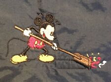 Disney Custodial Cast Member Exclusive Jacket Mickey With Broom Sweeping Rare