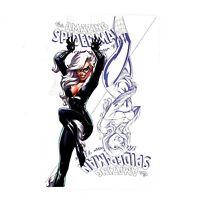 AMAZING SPIDERMAN RENEW YOUR VOWS 13 Black Cat J SCOTT CAMPBELL C BLUE VARIANT